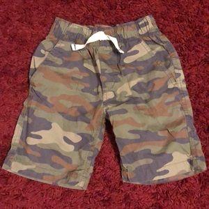 Camouflage Shorts.